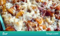 Roasted Butternut Squash and Bacon Pasta - A Hint of Honey