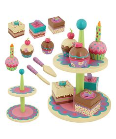 Take a look at this Wooden Sweet Set today!