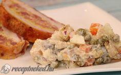 Orosz hússaláta recept konyhájából - Receptneked.hu Potato Salad, Potatoes, Ethnic Recipes, Food, Eten, Potato, Meals, Diet