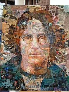 Images from the Liverpool City Region - John Lennon by Anthony Brown
