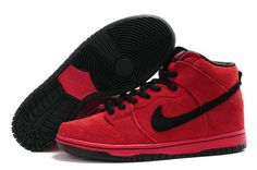 newest dd678 19edc Red Nike Dunks Heroman HellBoy Nikes Shoes HELP!!! WHERE CAN I FIND THESE