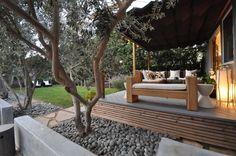Vote for Alexandra Tasker Marx Landscape Architect for Best Urban Garden in the Gardenista Considered Design Awards! Landscape Architecture Design, Landscape Plans, Landscape Architects, Fresco, Mexican Beach Pebbles, Outdoor Rooms, Outdoor Decor, Outdoor Ideas, Backyard