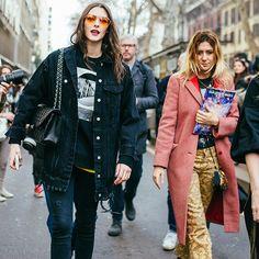 street style fashion week 2017 milan vittoria ceretti