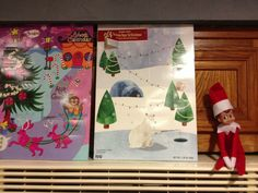 Elf on the Shelf - Monitoring the advent calendars....