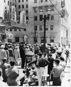 Hollywood & Vine ca. 1936