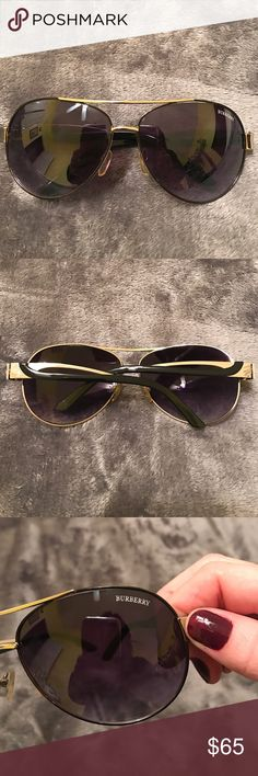Burberry Sun Glasses No case, that are used. May have a few signs of wear. Burberry Accessories Sunglasses
