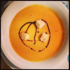 Simple roasted butternut squash soup (video)