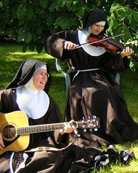 Poor Clare sisters whose monastery is in Nuns' Island, Galway, Ireland.