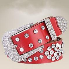 2015 Marcas Fashion Genuine Leather Women's Belt Inlaid Rhinestone For Women Designer Cummerbunds Accessories Belts For Strap alishoppbrasil