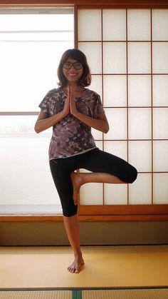 Yoga wear | Ooh La La Leggings by Papercut Patterns | Very Purple Person