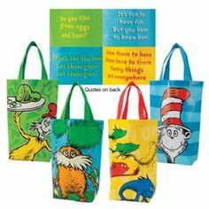 Seuss Tote Bags