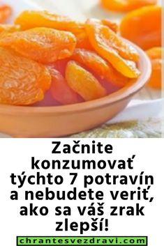 Začnite konzumovať týchto 7 potravín a nebudete veriť, ako sa váš zrak zlepší! Omega 3, Cantaloupe, Fruit, Food, Essen, Meals, Yemek, Eten