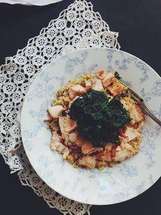 Io Healthy Kitchen: Salada de Quinoa, cebola, pimentos e tomate-cherry...
