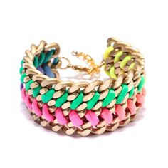 Double Bracelet Rainbow, $36, now featured on Fab.
