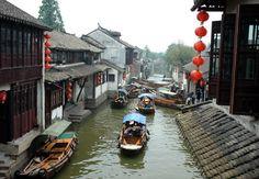 Ancient Town of Zhouzhuang - Shanghai