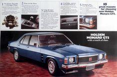 1974 Holden HJ GTS Monaro Brochure Page 1