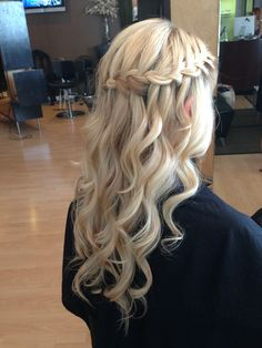 Waterfall braid by Abbie hale
