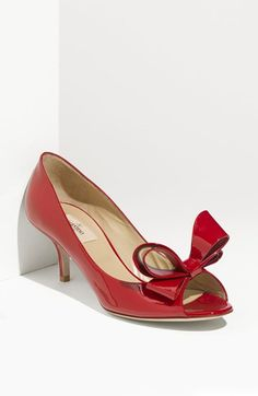 Valentino Couture Bow Pump available at #Nordstrom