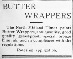 Sometimes more butter than what the home required was made with the excess being sold to increase the household income. The printing office of the local newspaper in Carnamah manufactured specialised butter papers for this purpose. Foodie Quotes, Household Income, Dining Ware, Virtual Museum, Cooking Gadgets, Serveware, Newspaper, Ephemera, Avon
