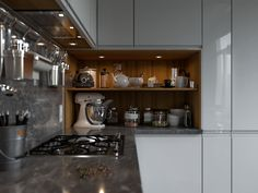 Современная кухня со скандинавским уклоном - Галерея 3ddd.ru