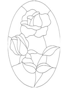 ★ Stained Glass Patterns for FREE ★ glass pattern 163 ★