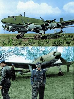 FW Condor (top) FW 190 (Bottom)