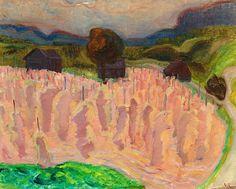 VERA NILSSON 1888-1979 Harvest Time