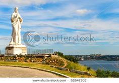Statue of Jesus Christ in Havana
