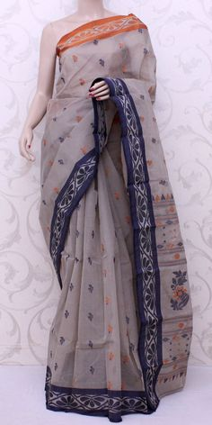 Bengal Handloom Tant Saree (Cotton) 13072 , Buy Partywear Tant Sarees online, Pure Partywear Tant Sarees, Trendy Partywear Tant Sarees ,Partywear Collection , online shopping india, sarees , sweets, cameras, shoes, watches, appliances, apparel, sweets online in india | www.maanacreation.com
