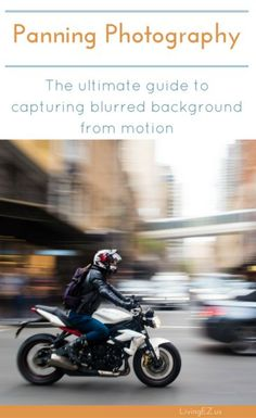 Panning photography tips from camera settings to editing! #photography #phototips