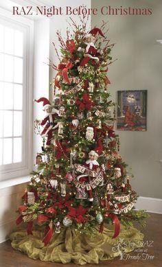 RAZ Night Before Christmas Tree http://www.trendytree.com
