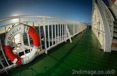 On board the Arran ferry