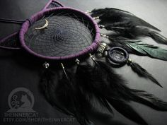 Luna's Dream Catcher (NOW AVAILABLE ON ETSY) by TheInnerCat on DeviantArt