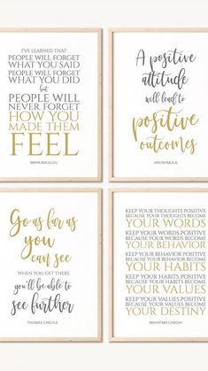 Think Positive Quotes, Positive Art, Positive People, Positive Mindset, Mental Health Quotes, Teen Quotes, School Counselor, Behavior Management, Wall Art Quotes
