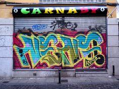 C/ De la Encomienda. Barrio Tirso de Molina. Madrid. 2015