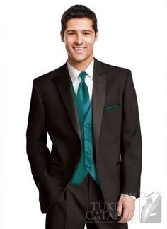 tux black shirt teal | Black 'Icon' Tuxedo | Tuxedos & Suits.