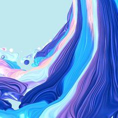 Waves on Digital Art Served