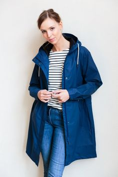 Stirmy Jacket Estate Blue