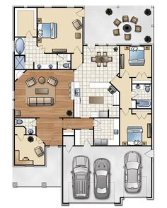 The Andrew 2209 sq ft