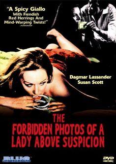 The forbidden photos of a lady above suspicion • Luciano Ercoli