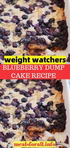 Dump Cake Recipes, Homemade Cake Recipes, Ww Recipes, Diabetic Recipes, Summer Recipes, Chicken Recipes, Low Calorie Desserts, Ww Desserts, Dessert Recipes