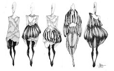 Ideas Fashion Design Drawings Texture For 2019 Pastel Fashion, Quirky Fashion, Fashion Art, Fashion Women, High Fashion, Texture Sketch, Texture Drawing, Fashion Design Drawings, Fashion Sketches