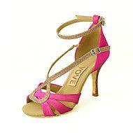 Customizable+Women's+Dance+Shoes+Latin/Salsa+Sati...+–+EUR+€+53.89