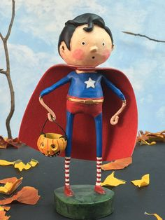 Our Halloween superhero is here to save the day! He is good and kind, our little…