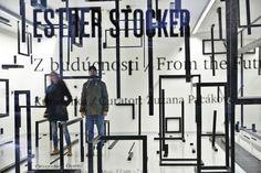 Esther Stocker: Z budúcnosti/From the Future, Foto: Martin Marenčin