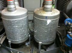 Insulation to tanks