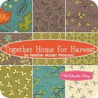 Together Home for Harvest Fat Quarter BundleHeather Mulder Peterson for Henry Glass Fabrics