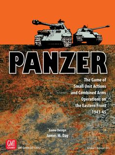 Panzer is a reprint of a Jim Day design and GMT have done a great job. Tactical level with each vehicle and gun counter representing one vehicle or gun and infantry represent squads or half squads. This and the 1st two modules focus on the Eastern Front. Western front 1944-45 and North Africa to come!