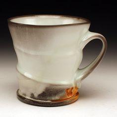 """Mug"" Matt Long (Red Lodge Clay Center) Episode 1 red clay rambler Thrown Pottery, Pottery Mugs, Ceramic Pottery, Pottery Art, Pottery Wheel, Ceramic Tableware, Ceramic Clay, Porcelain Ceramics, Matt Long"