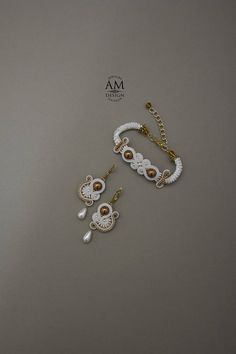 Black Friday SALE Wedding Bracelet Bridal Jewelry Set